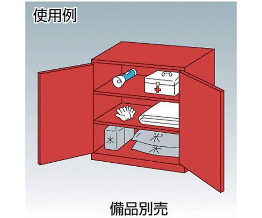 防災・非常用品保管庫 W880XD380XH880 R-303