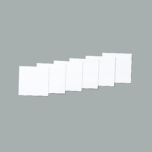 スチールケース用札 KS-C札(白) 228035