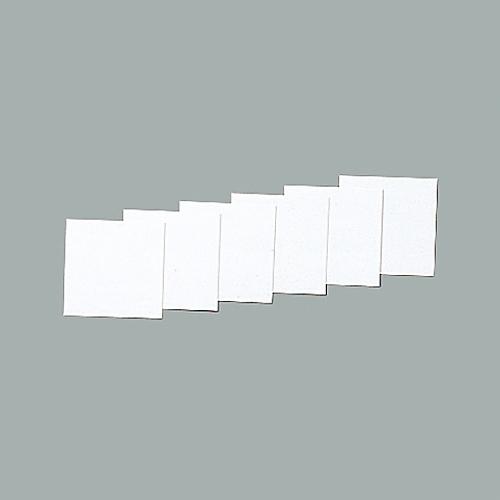 スチールケース用札 KS-D札(白) 228045