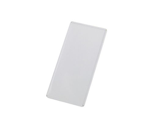 スチール無地板 山型 白 スチール-17 058171