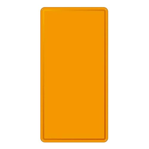 スチール無地板 明治山型 橙 スチール-18 058185