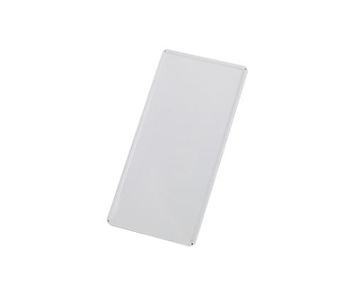 スチール無地板 山型 白 スチール-35 058351