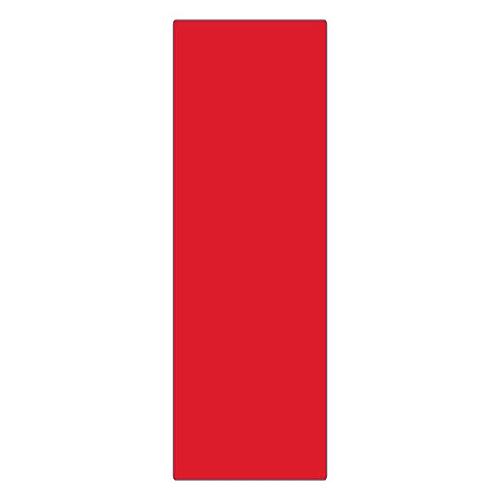 エンビ無地板 エンビ-22(赤) 057224