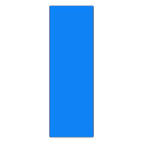 エンビ無地板 エンビ-22(青) 057225