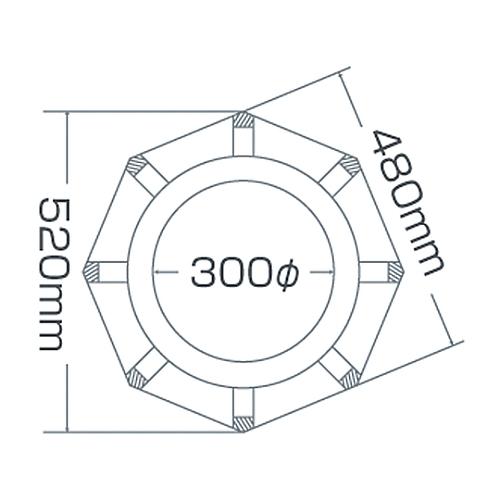 ジャンボコーンスタンド JRC-R 116130