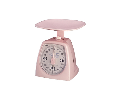 アナログクッキングスケール タニハンド 1437 1kg Nピンク 1437-1kg