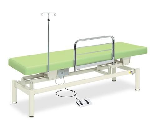 電動ナース TB-1191 幅60×長さ180×高さ45~83cm ライトグリーン