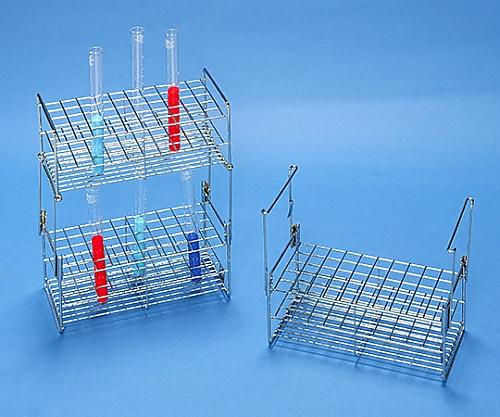 ステンレス製試験管立 SS16.5-50用積重ね金具