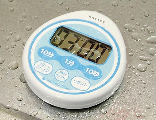 時計付防滴タイマー T-543BL