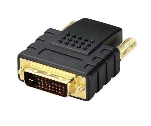 HDMI→DVI変換アダプタ
