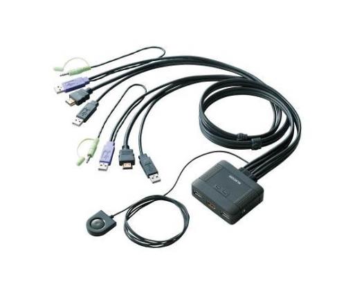 パソコン切替器 HDMI対応 KVM-HDHDU2