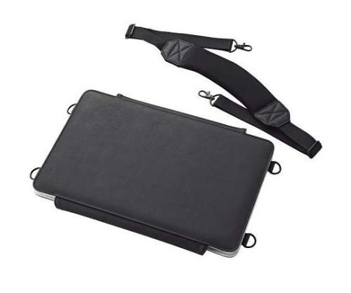 [取扱停止]タブレットPC汎用ケース 画板タイプ ソフトレザー ~12.5インチ ブラック TB-12LCSSBK