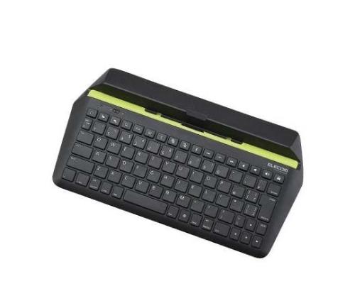 [取扱停止]Bluetoothキーボード iPad・iPad_mini用 パンタグラフ式 ブラック TK-FBP067IBK