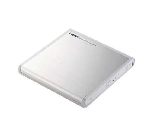 [取扱停止]USB DVDドライブ 視聴ソフト付 ホワイト LDR-PMH8U2VWH