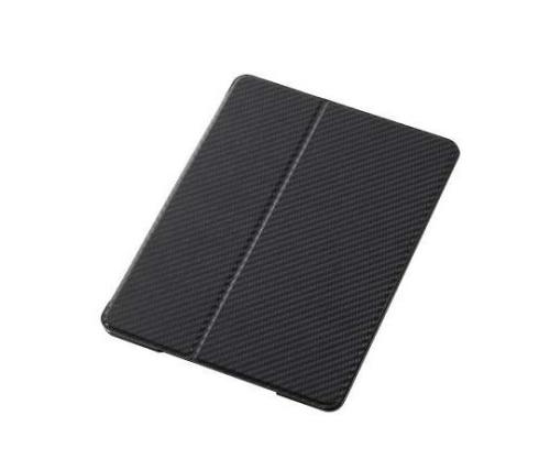 [取扱停止]iPad Air フラップカバースリープ対応 カーボンブラック TB-A13PVFCBK