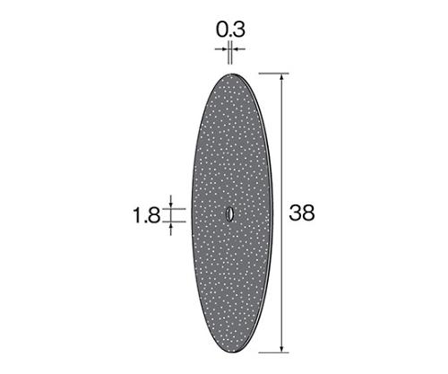 カッティング砥石 45×0.3 (10個) MC2041 等
