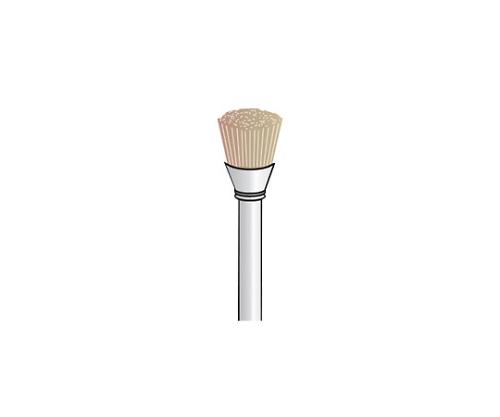 豚毛ブラシカップ ハード 白 7Φ 軸2.34 (5個) FC1301 等