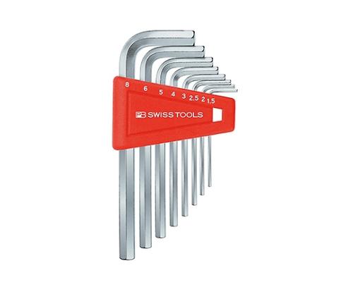 6角棒レンチセット ホルダー付 1.5-5mm 210H-5 等