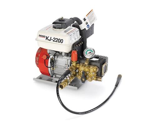 KJ-2200 排水管用高圧洗浄機ジェッター カートナシ 63877 等