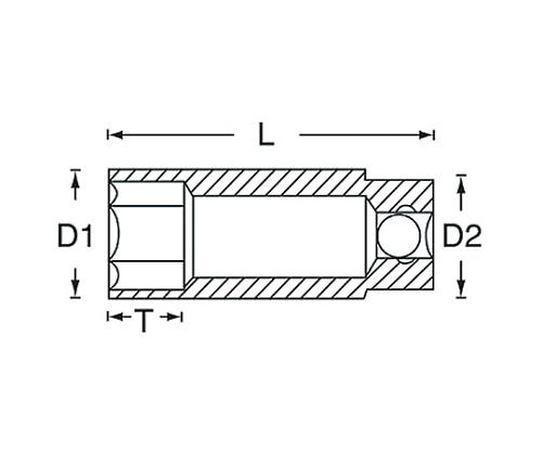 ディープソケット 1/4DR 1120シリーズ