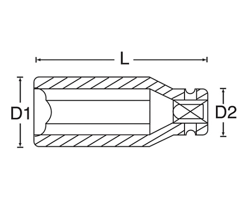 ディープインパクトソケット 3/8DR