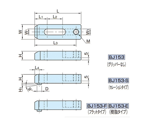溝付きストラップ BJ153-10125
