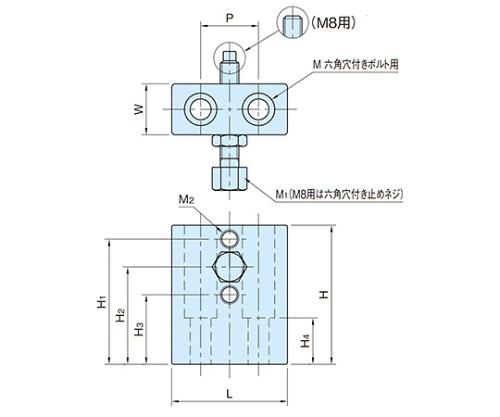 アジャストストッパー(重量型) BJ210-08032