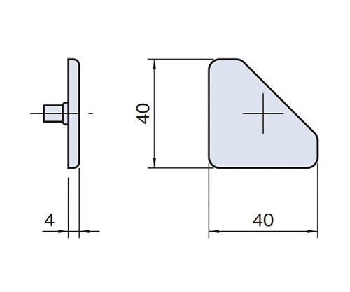 エンドキャップ ECP4040-45