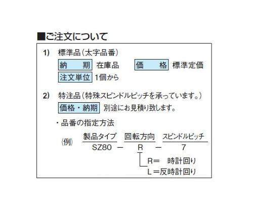デジタルダイアルインジケーター SZ80R-4