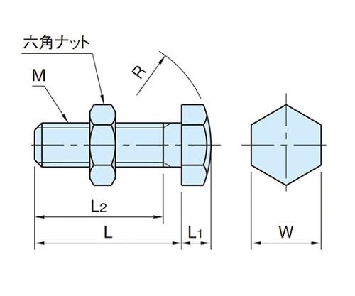 スラストボルト M16×2  BJ732-16075
