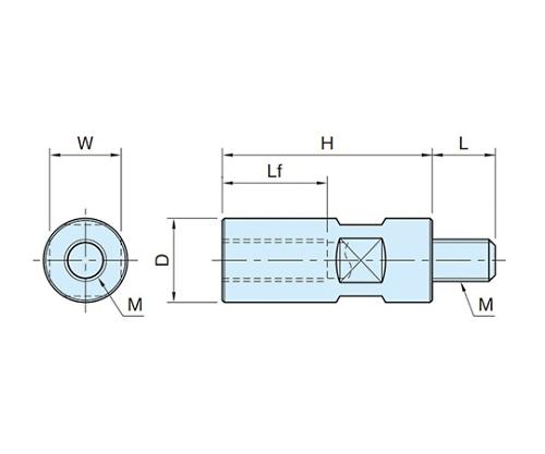 ジョイントバー M12×1.75 BJ601-12050  BJ601-12050
