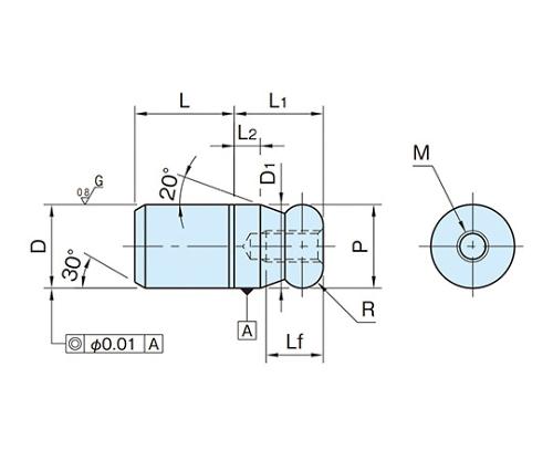 ストレートピン BJ790-16001