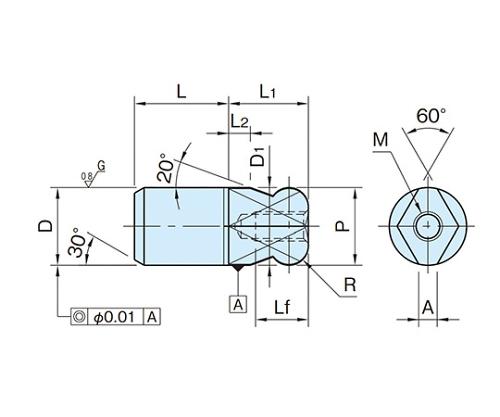 ダイヤピン BJ792-16001