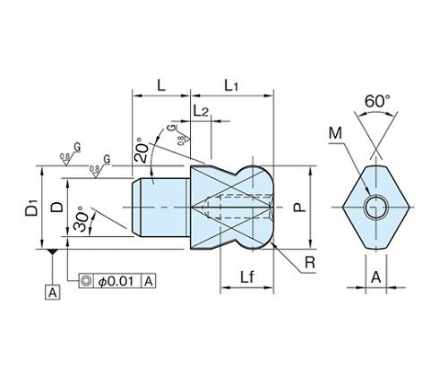 ダイヤピン BJ793-16001