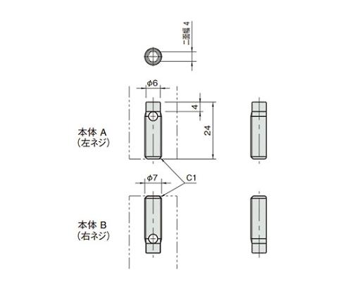 オートマティックバットジョイント L5-ABT7