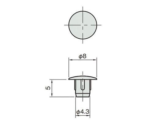 キャップ5 L5-CP4.3