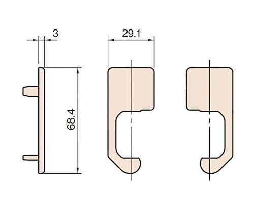 エンドキャップ L6-ECPC6829