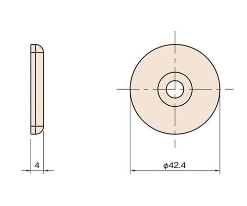 グリップエンドキャップ6 L6-GPEC42