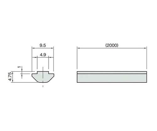 ナットプロファイル5 L5-TSS2000