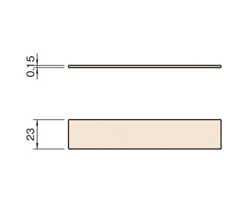 クランププロファイルエコノミーBN6 L6-CPEBA23-20M