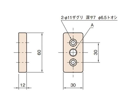 エンドコネクター6 L6-ECN6030-M12