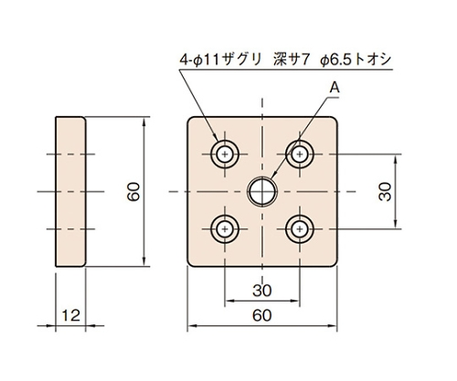 エンドコネクター6 L6-ECN6060-M16