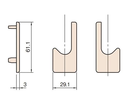 エンドキャップ L6-ECPC6129