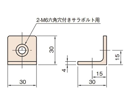 ジョイントブラケット L6-JBT3030