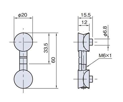 ニューマティックバットジョイント PBJ20