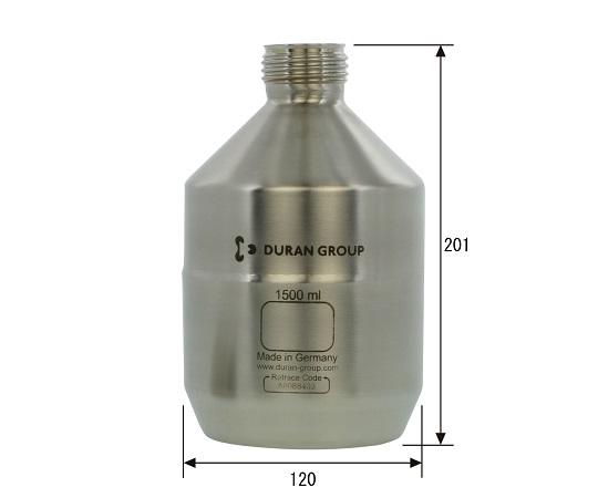 Stainless Steel Bottle Bottle Only (UN Standards) 1.5L 017200-1500