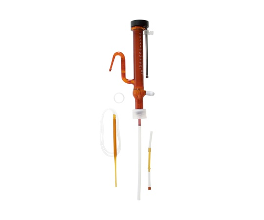 [取扱停止]分注器 リビューレット 茶褐色 本体 1mL 025120-11