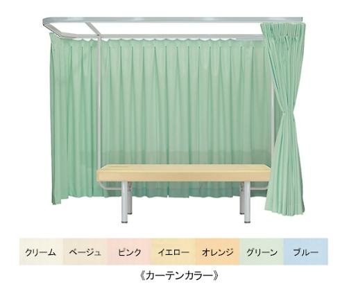 ドルチェAタイプ&フレンド 幅70×長さ180×高さ60cm グレー×グリーン TB-528