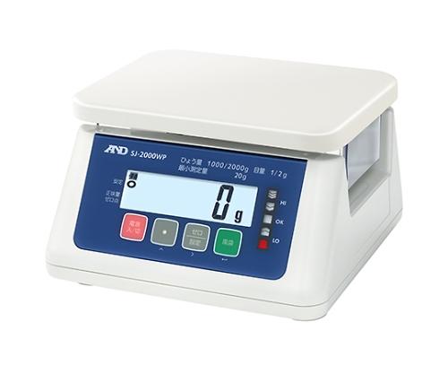 防塵・防水デジタルはかり(検定付) SJ-WP 精度等級3級