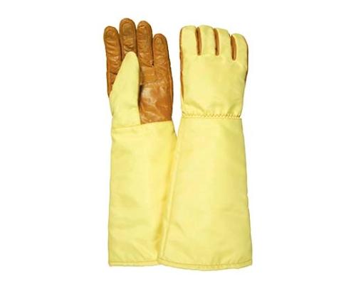 500℃対応クリーン用耐熱手袋(ロング) クリーンパック品 MZ656-CP